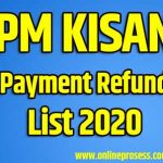 PM Kisan Payment Refund