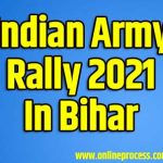 Indian Army Rally 2021 In Bihar|
