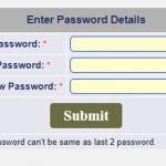 Uti Password Resat Error 100% Solution